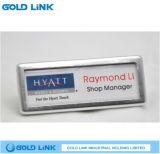 Nameplate названной бирки значка изготовленный на заказ металла конструктора магнитный