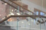 低い建物の手すりの天井のカーテンのための鉄によってSgp薄板にされるガラス