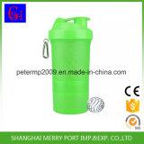 выполненная на заказ пластичная бутылка трасучки протеина бутылки воды 500ml с 2 коробками пилюльки слоев
