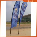Знамя летания напольного промотирования цены по прейскуранту завода-изготовителя изготовленный на заказ рекламируя