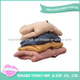 Maglione di lavoro a maglia del panno morbido del cardigan dell'abito caldo dei bambini di inverno per i capretti