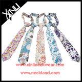 Cravate de coton estampée par coutume pour des enfants