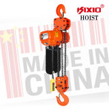 Kixio 7.5ton 산업 빌딩 훅 트롤리 낮 헤드룸 전기 체인 호이스트