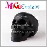 Venta caliente de alta calidad de cerámica regalos cráneo la caja de dinero de Halloween