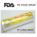 BPA libèrent le glisseur et le PE de coupeur de plastique s'attachent film pour l'enveloppe de nourriture