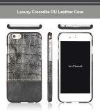 Чехол для мобильного телефона ПК кожаный чехол для iPhone 6, роскошь крокодил PU Flip чехол для iPhone 6/6s