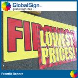 13oz, 300X500d, 18X12, Огнестойкий плакатный ПВХ баннер (LFG35/440)