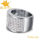 Нержавеющей стали способа Exsr10rg кольца ювелирных изделий лидирующей дешевые
