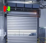 Deur van het Blind van de Rol van het Frame van het Aluminium van de hoge snelheid de Harde Materiële Snelle (Herz-FC057)