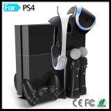 Suporte de base de carga para Playstation 4 Vr PS 3 PS3 Move Motion Controller PS4 Bluetooth Wireless Gamepad