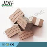 Jdk Sandwich Diamond Tool Blade сегмент для США Blue Stone Cutting