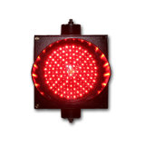 indicatore luminoso rosso del segnale stradale di verde LED della miscela del PC di 200mm
