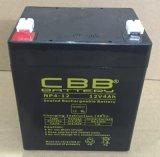 La plupart de batterie populaire d'UPS 12V4ah pour la moto d'acide de plomb solaire de batterie d'accumulateurs du système 12V4ah