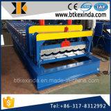 Kxd 1100 ladrilhos vidrados Metal Máquinas Formadoras de folha de tejadilho