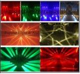 16PCS X 12W het LEIDENE Licht van de Straal met Eindeloze Omwenteling