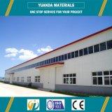 Construction en acier préfabriquée de construction de structure métallique de construction