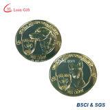 記憶のための工場によってカスタマイズされる金属の小犬の硬貨