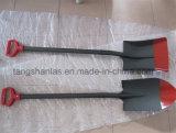 Griff-Schaufel-russische Art-Schaufel mit Stahlgriff