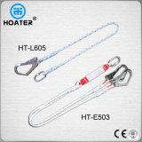 Corda della cinghia di sicurezza di alta qualità En354 1.5-1.8m con Carabiner