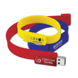 Pulsera de silicona Stick USB 4GB USB Flash Drive (TF-0192)