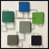Différentes couleurs de revêtement de sol en vinyle de Pattern de coton des stocks disponibles