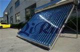 Ce aprobada Inox SUS304 calentador de agua solar de tubos de vacío con el tanque auxiliar automáticamente