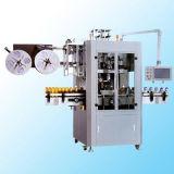 Semi automática de vapor La disminución de la máquina de etiquetado