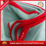 Manta al por mayor del paño grueso y suave de la comodidad de la vida de las muestras libres con bordado