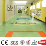 Geluid van de Kleur van Grassgreen absorbeert het Stevige de VinylBevloering van de Vloer van pvc voor Commercieel KleinhandelsHuis 3.2mm van de Kleuterschool van het Gebruik