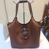 Saco de ombro oco Sh123 do Tote de 2017 sacos das mulheres do estilo das bolsas de couro em linha do plutônio da compra