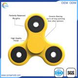 Het nieuwe Plastiek van het Speelgoed van de Nadruk van de Hulp van de Spanning van de Bezorgdheid friemelt de Spinner van de Hand