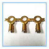 Bornes de cordon d'alimentation, borne de tube carré 2X4 avec placage de nickel (HS-ET-009)