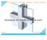 Parete divisoria del blocco per grafici di vetro di alluminio