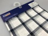 면 색깔 섬유 원형 털실 직물은 검사한다 Lz8258