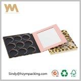 Paleta de impresión sexy Leopard 9 colores maquillaje sombreador de ojos Paleta Caja de papel