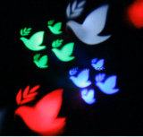Projector de luzes de Natal da paisagem, lente padrão de LED para decoração de casa de férias