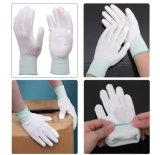 Перст PU/покрынная Plam перчатка работы безопасности