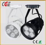 Luz LED de la vía de la luz de foco LED PAR30 LED luces LED de mazorca vía vía lámparas lámparas LED de alta calidad