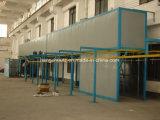 Línea de capa automática del polvo para la venta con el ciclón