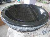 G654 bassin, bassin de granit, bassin noir de granit
