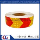 Roter u. gelber Pfeil-reflektierendes Sicherheits-Band (C3500-AW)