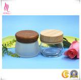 10g顔マスクのガラス装飾的なびんの空の瓶、カバーが付いている円形の目のクリームのパッキングびん