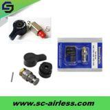 Soupape principale professionnelle pour le pulvérisateur privé d'air électrique de peinture de Grac