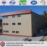 Construction multi préfabriquée d'industrie de structure métallique d'étages