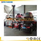 Elevación elegante del servicio del coche del equipo del estacionamiento del coche de poste cuatro para el estacionamiento