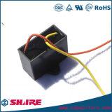 Le câblage du condensateur du ventilateur Cbb61 avec broches ou fils du condensateur de condensateur