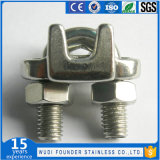 Зажим кабеля веревочки провода нержавеющей стали