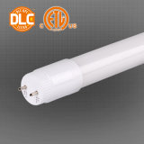 Liste UL 2FT LED T8 Tube avec la conception d'entrée Double-Ended
