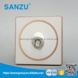 Interruptor de parede de satélite branco de luxo acrílico