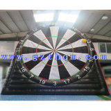 Signal Wall Dart Board Game / Commercial Dall jeu gonflable pour extérieur